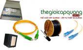 Cung cấp thiết bị quang, cáp quang và phụ kiện cáp quang