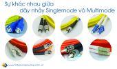Sự khác nhau giữa dây nhảy quang Singlemode và Multimode