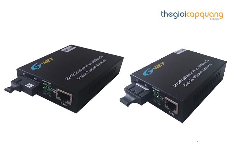 Bộ chuyển đổi quang điện Gnet 1 sợi và 2 sợi